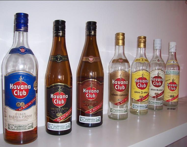 Havana Club produce diferentes tipos de ron