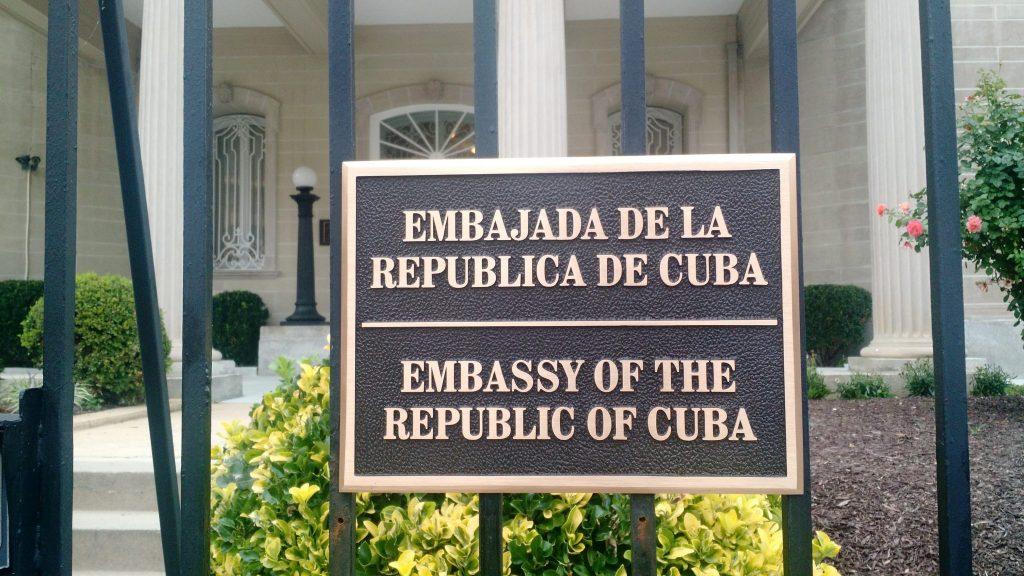 cuba embajada