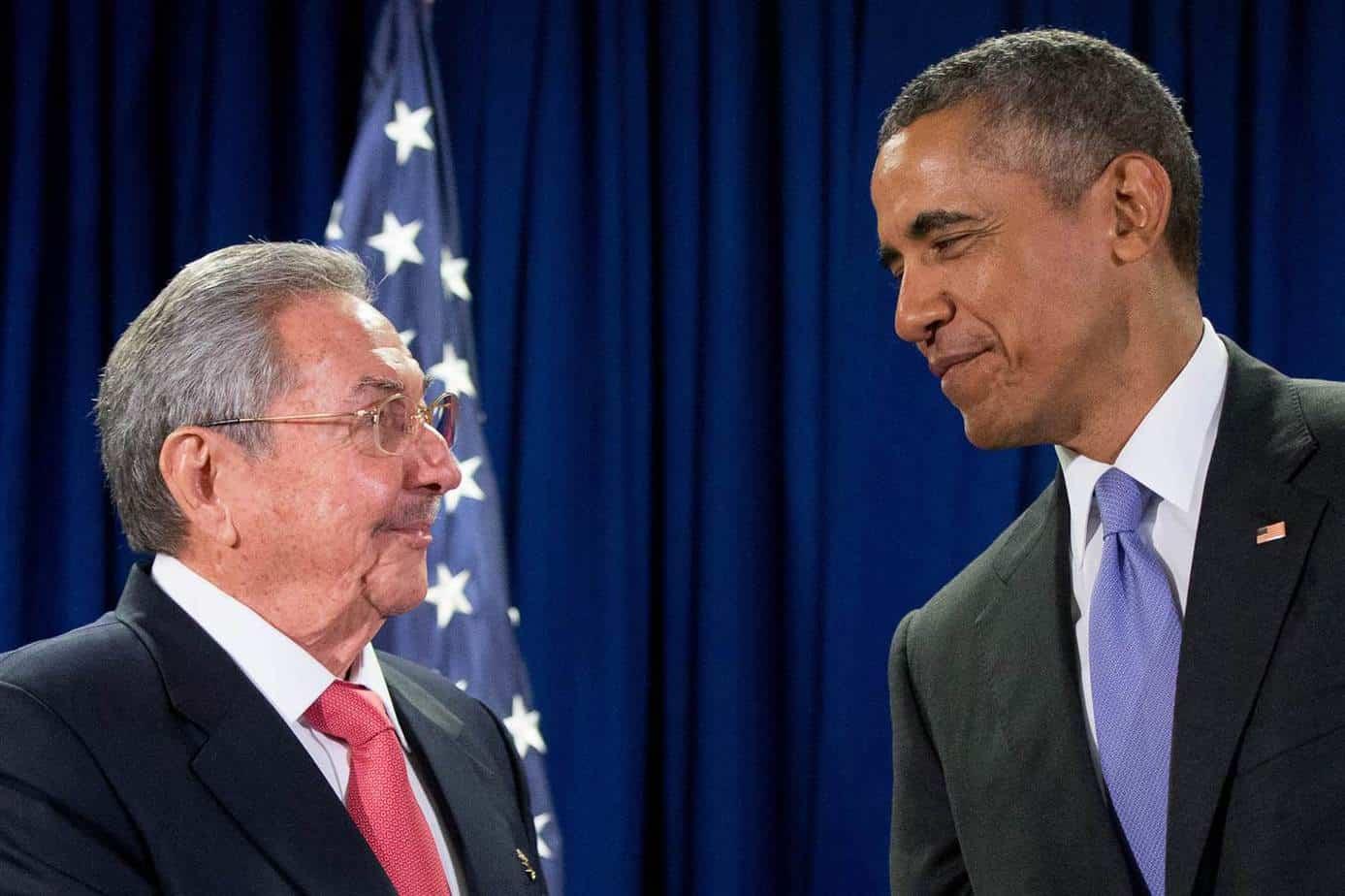 Raul Castro y Obama