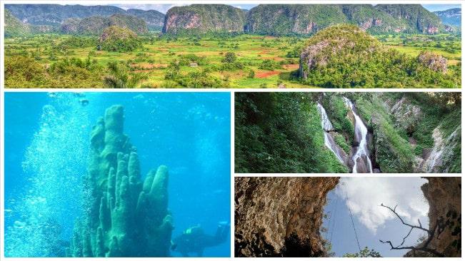 4 Bellezas Naturales de Cuba