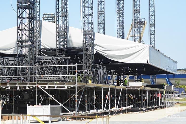 Continúan Preparativos: Concierto De Los Rolling Stones