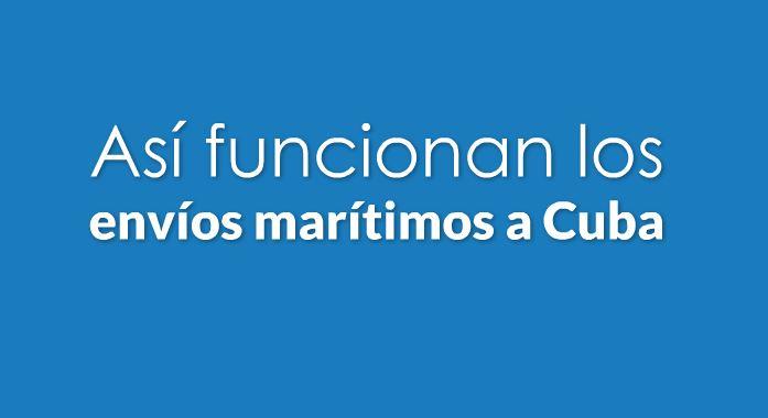 Envios maritimos a Cuba
