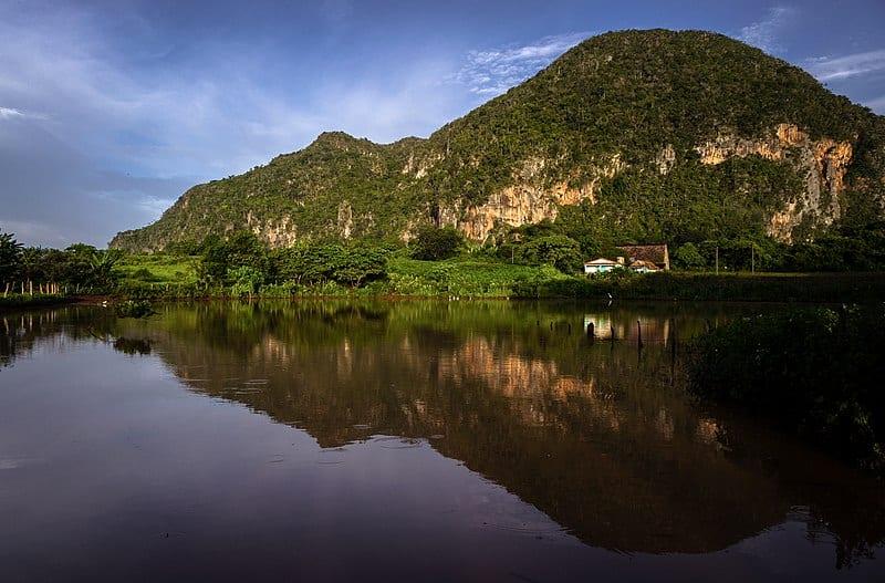 El Valle de Viñales en Cuba