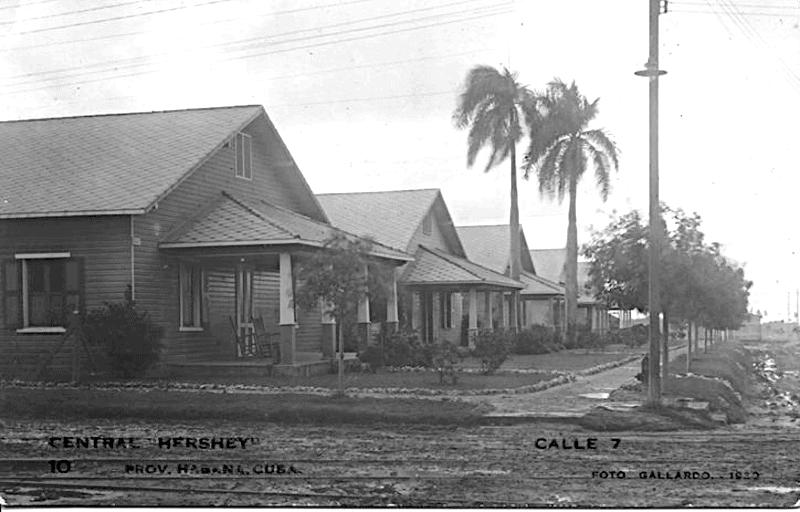Vista de Hershey en 1919