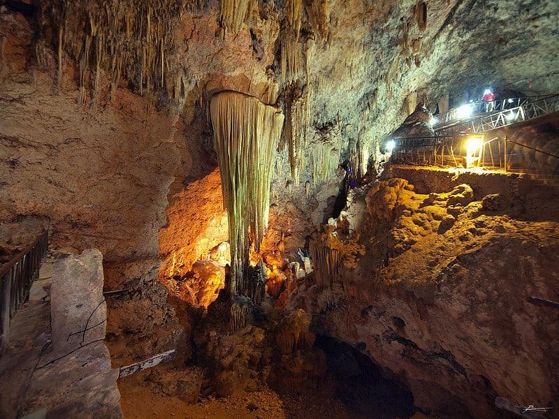 Cuevas de Bellamar en Cuba