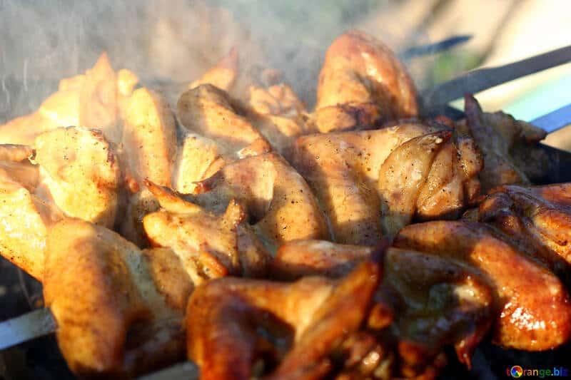 Pollo ahumado