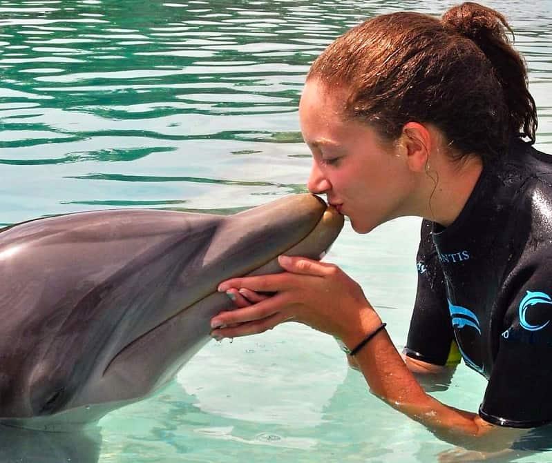 Nadar con delfines en Varadero
