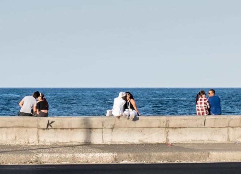 El Malecón de La Habana es uno de los lugares más románticos de Cuba