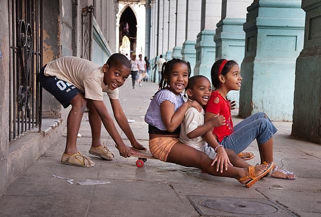 amra a Cuba es amar a sus niños