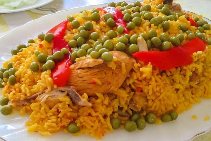 Arroz con Pollo. Una de las exquisitas comidas cubanas. FOTO: conexión cubana.nex