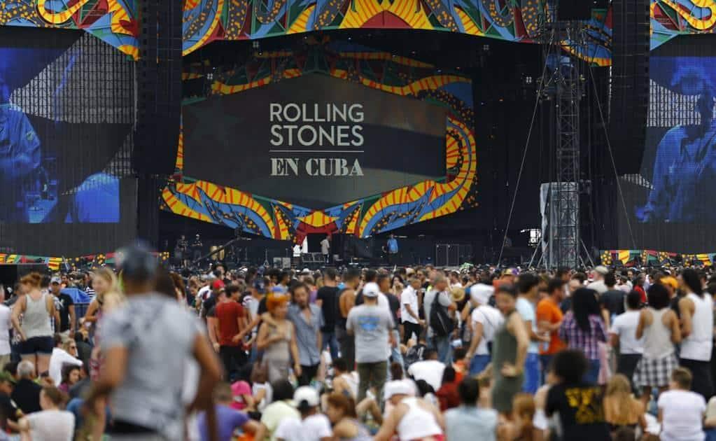 El  estreno se hará el 23 de Septiembre en cines. ¡Havana Moon: The Rolling Stones Live in Cuba! Ese será el nombre del Film. FOTO: eluniversal.com.mx