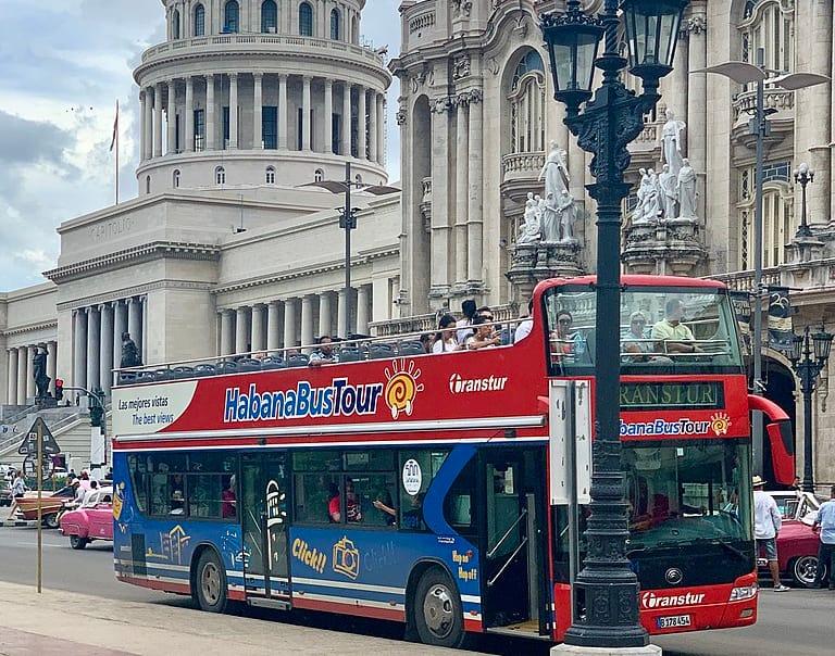 Bus Turístico de La habana