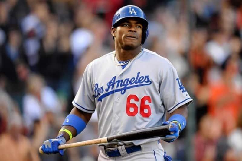 El contrato que mantiene Puig con los Dodgers de Los Angeles es de $ 42 millones de dólares el cual tiene como fecha de vencimiento el año 2.018. FOTO: media.diariolasamericas.com/