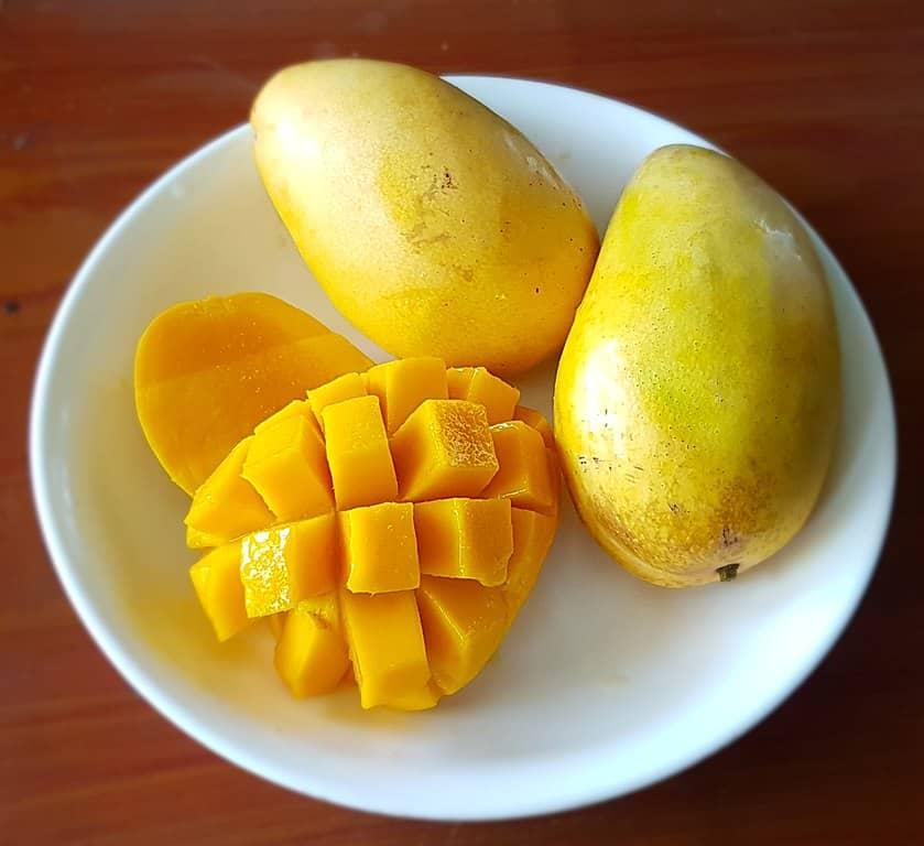 Un delicioso batido de mango es lo mejor. Obsidian Soul
