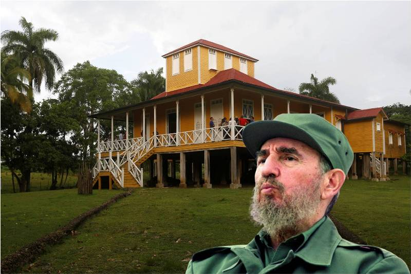 Descubre la casa donde nació Fidel Castro