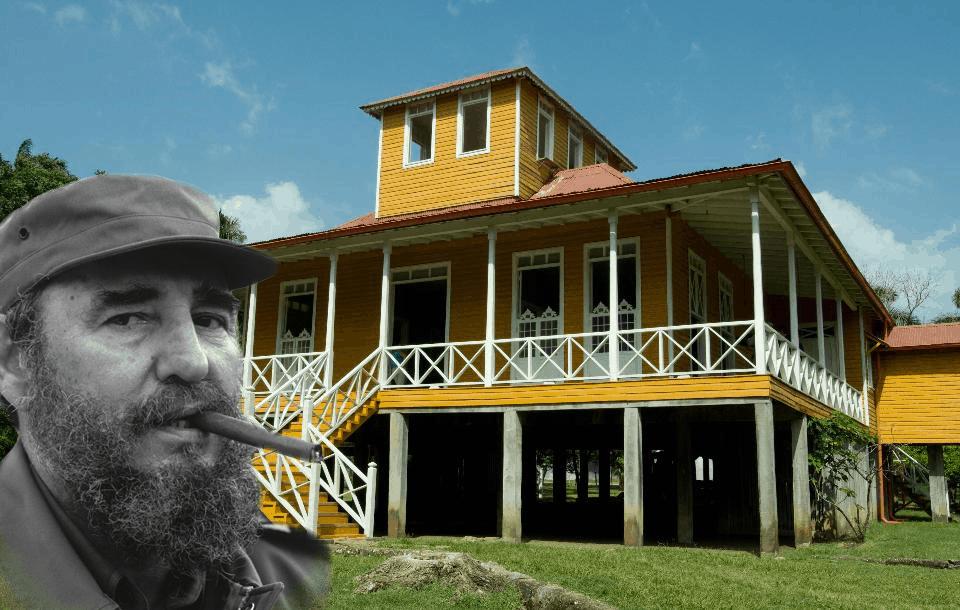 Finca donde nació Fidel Castro