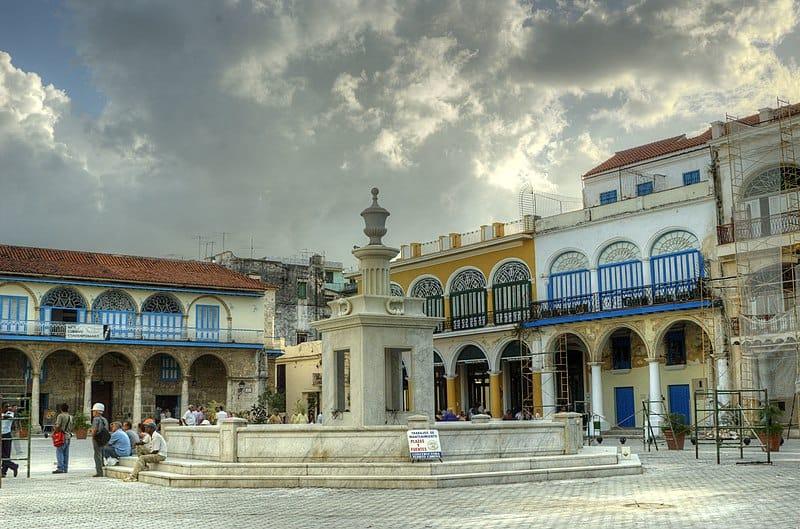 La Habana Vieja, uno de los lugares más visitados de Cuba