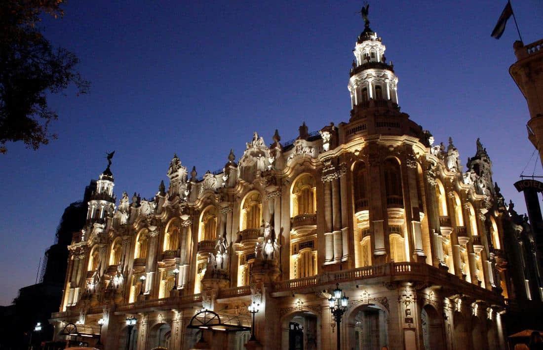 Gran Teatro de La Habana.