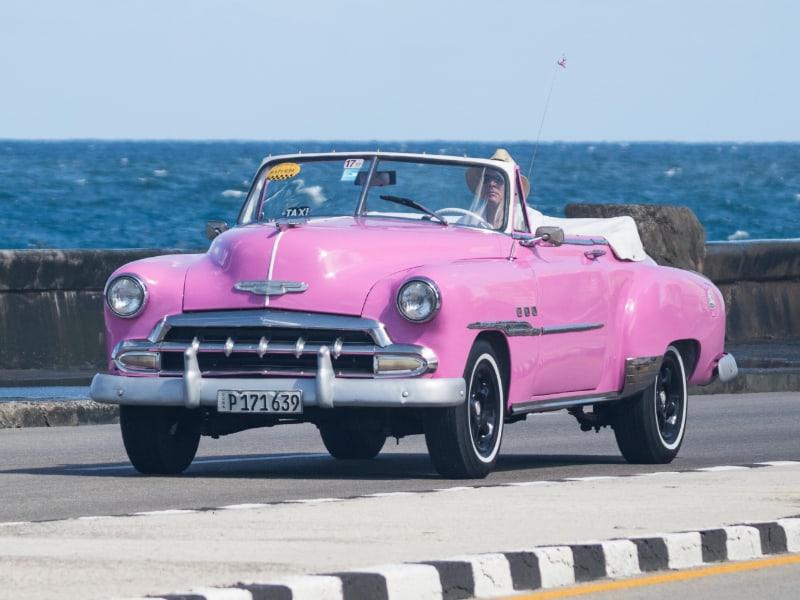 Taxi en Cuba