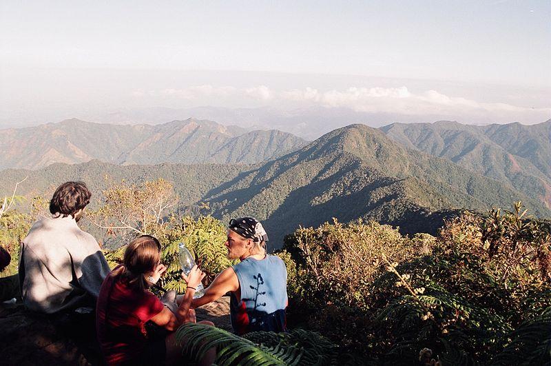Subir al pico Turquino