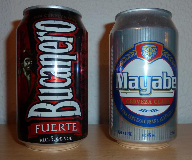 cervezas típicas cubanas