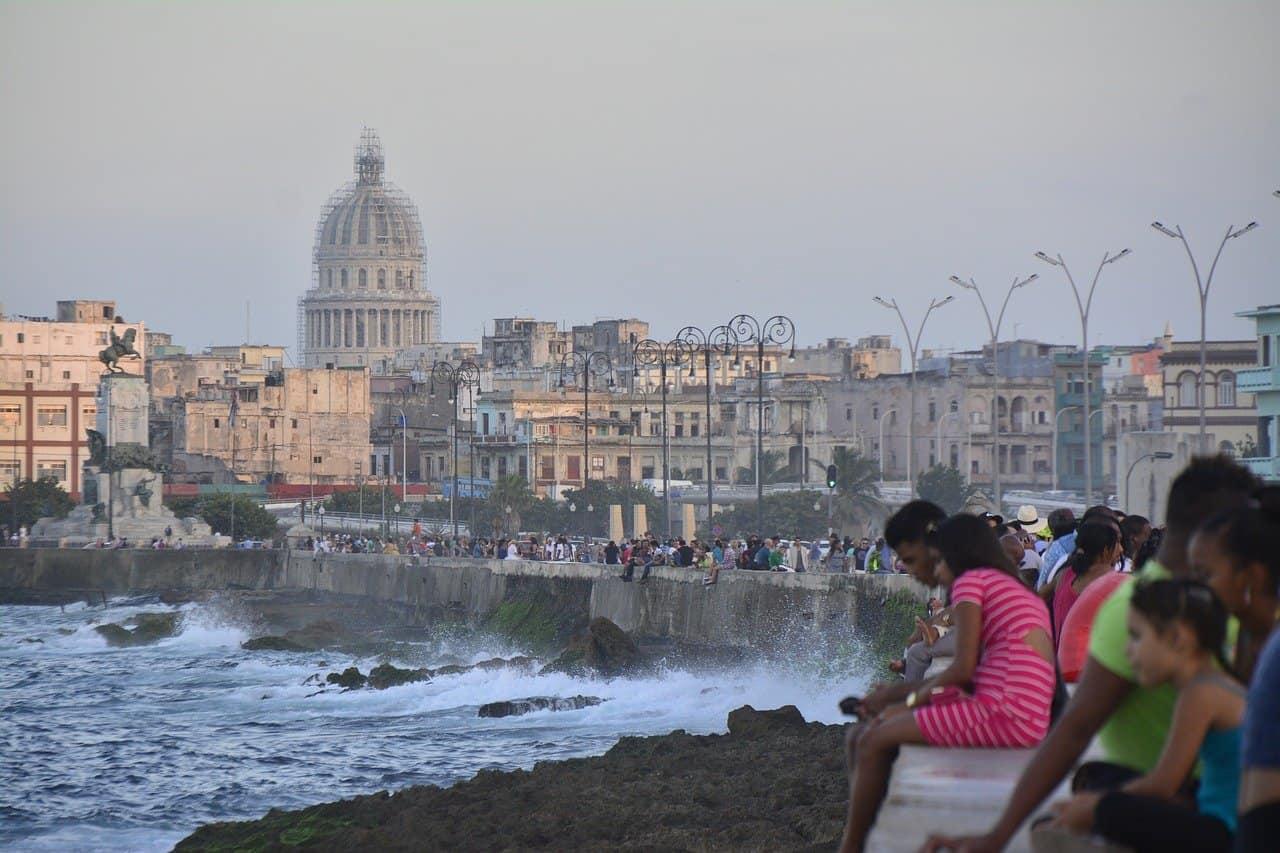 El malecón de La Habana, una joya en el Caribe