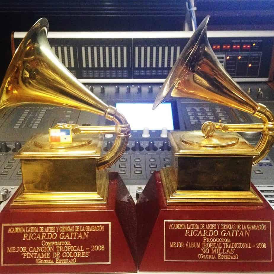 Algunos de los Latin Grammy que Emilio y Gloria Estefan han ganado