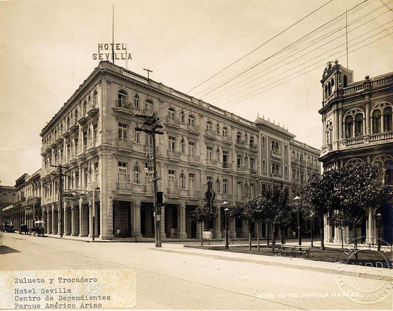 El Hotel Sevilla en 1930
