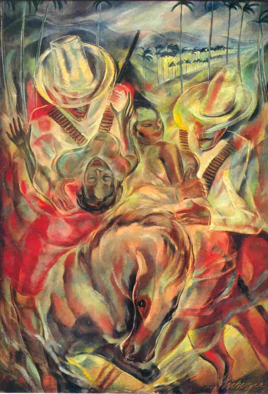 El cuadro más famoso del pintor cubano Carlos Enríquez