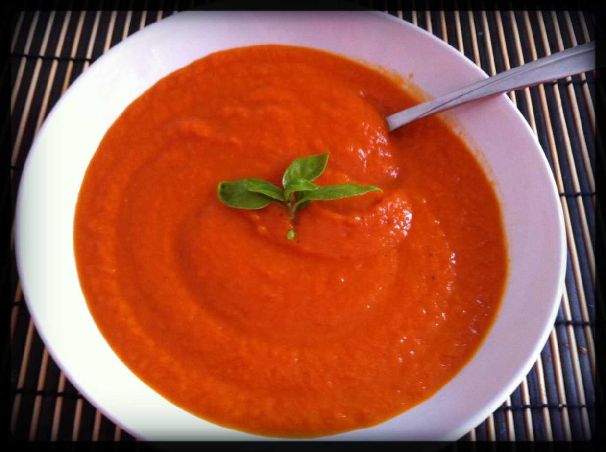 Crema de tomate, un entrante muy cubano
