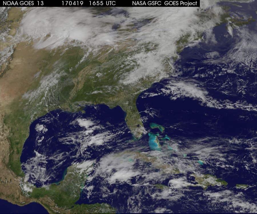 Última hora: emiten aviso sobre el posible primer ciclón tropical de la temporada