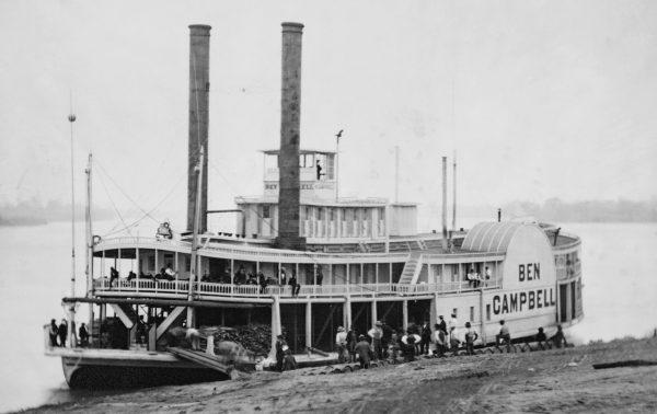 barcos a vapor