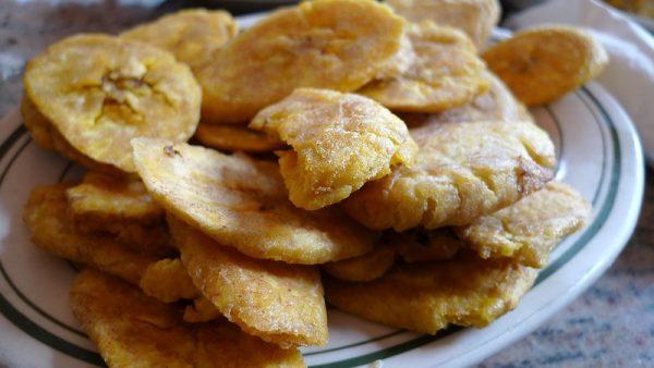 Tostones cubanos