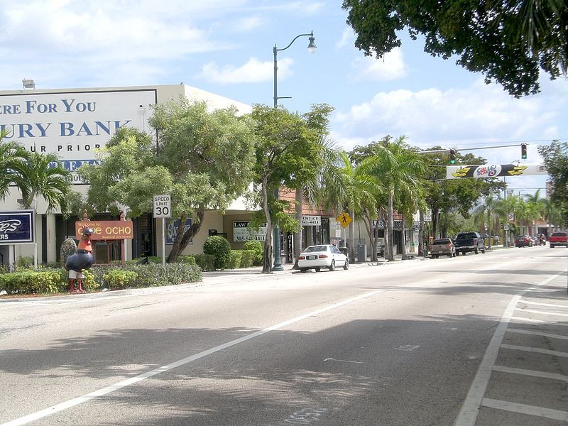"""La Calle Ocho, en la """"Pequeña Habana"""""""