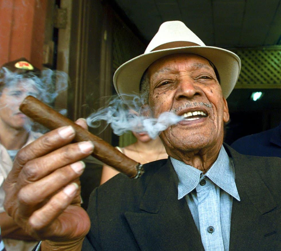 Compay Segundo, el más viejo y famoso de los trovadores cubanos