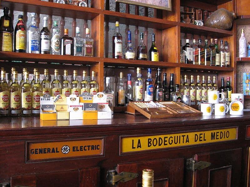 Bares famosos en Cuba