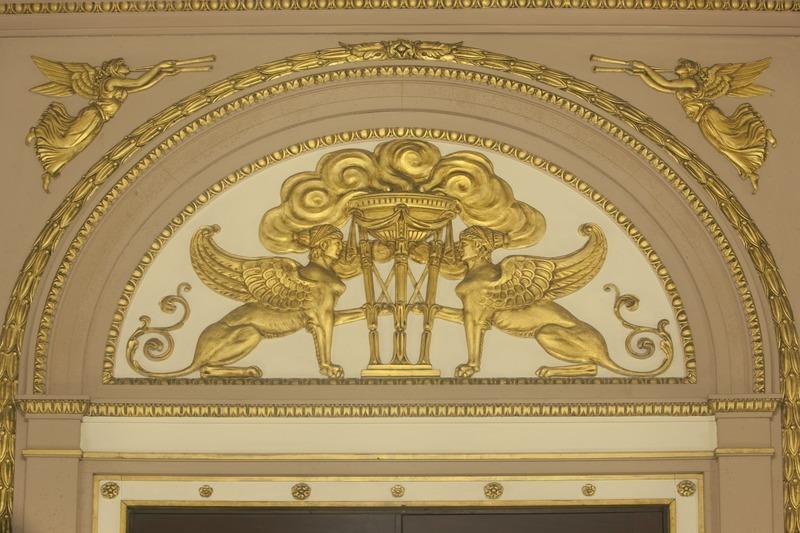 Ornamentaciones en oro del Capitolio
