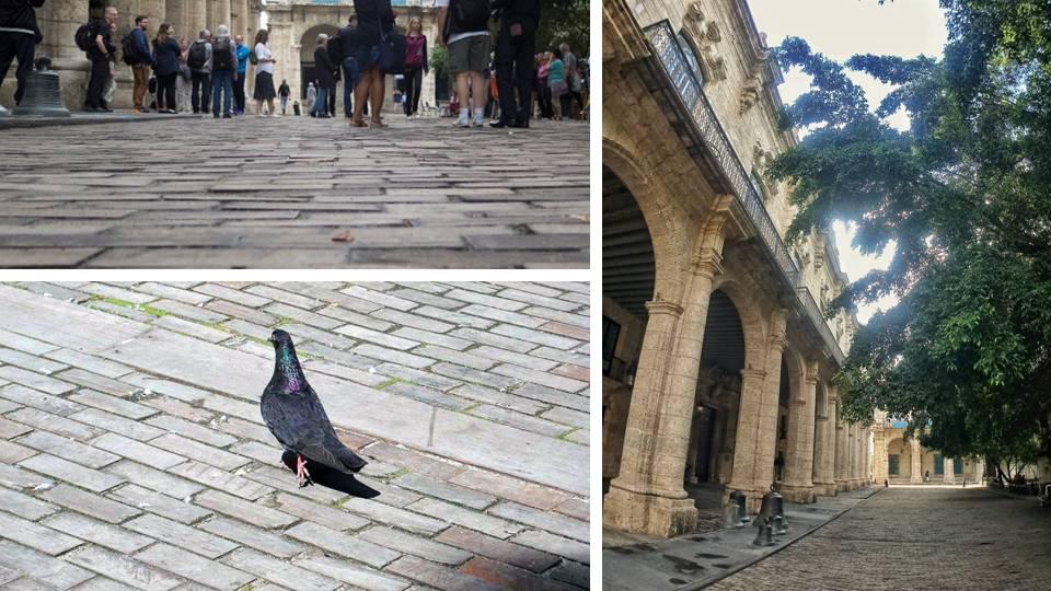 La famosa calle de medera de La Habana Vieja
