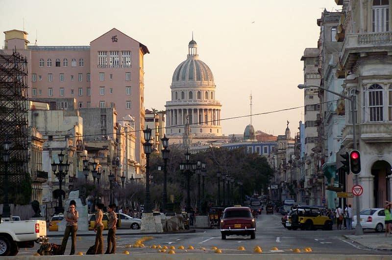 Paseo del Prado de La Habana
