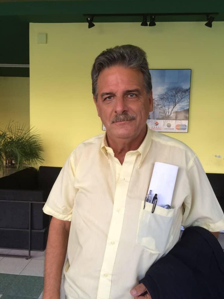"""Dr. Rubiera: """"Estoy muy contento de estar de vuelta"""""""