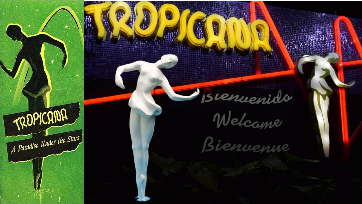 La bailarina, el gran símbolo del Cabaret Tropicana