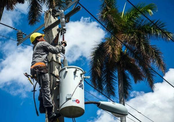 La provincia de Sancti Spíritus ya cuenta restablecido completamente sus circuitos eléctricos