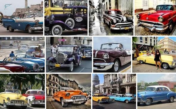 Automóviles antiguos en Cuba