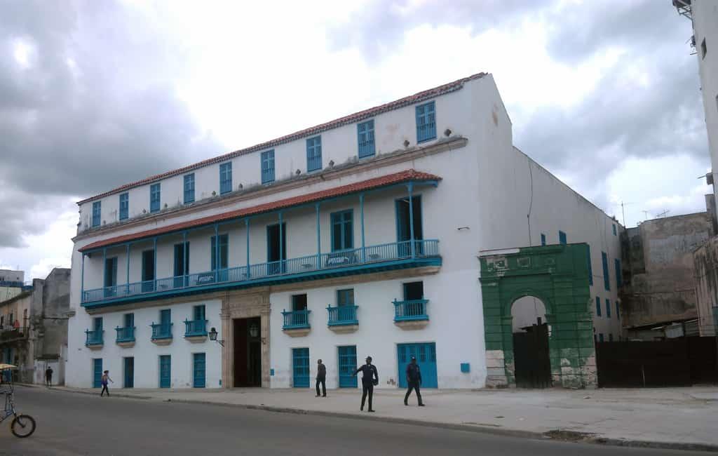 La antigua Casa de Mateo Pedroso, hoy Palacio de la Artesanía