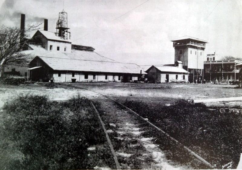 El central Santa María en 1913