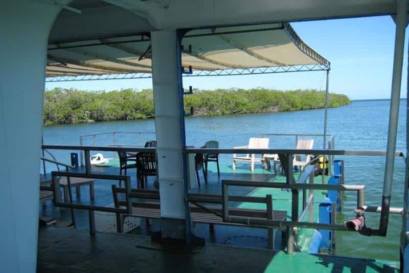 Hotel flotante: El Tortuga