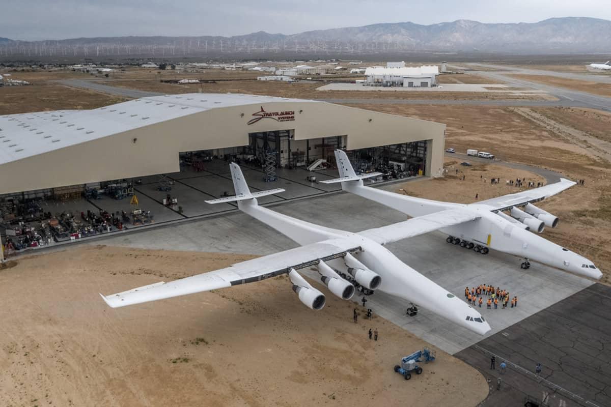 El avión de mayor envergadura y singular del mundo ya tiene fecha para su primer vuelo