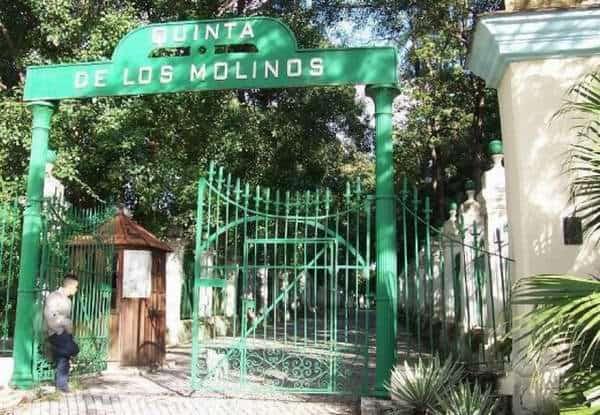 Quinta de los Molinos en Cuba