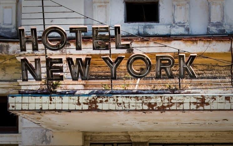 Uno de los hoteles más lujosos de Cuba: El hotel Nueva York