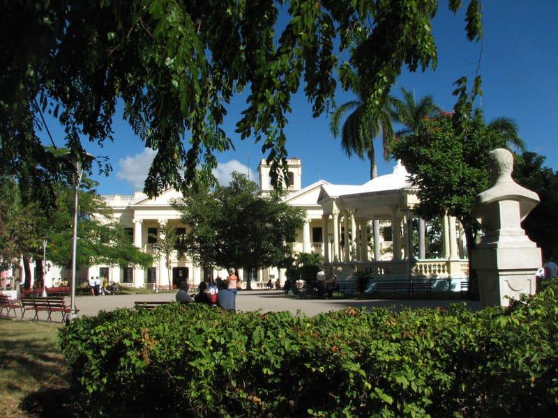 Parque Vidal, en Santa Clara, Cuba